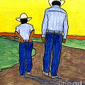 Just Me And My Dad by Angela L Walker