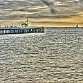 Just Sailing By Grunge by Steve Purnell