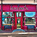 Justine's Ice Cream Parlour by Stephen Younts