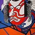 Kabuki Actor 2 by Stephanie Moore