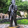 Kafka Monument by Edite Azevedo