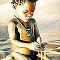 Kalahari Little Boy by Yvette Mey