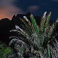 Kalalau Mountains At Night by Lannie Boesiger