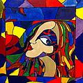 Kaleidoscope Girl by Rae Chichilnitsky