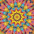 Kaleidoscope Series Number 7 by Alec Drake