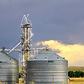 Kansas Farm by Jeanette C Landstrom