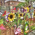 Kansas Flower Market Usa by David Fussell