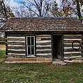 Kansas Log Cabin by Alan Hutchins
