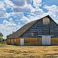 Kansas Stone Barn by Alan Hutchins