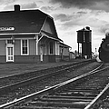 Kansas Train Station by Myron Wood and Photo Researchers