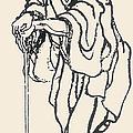 Katsushika Hokusai by Granger