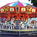 Kauai Carousel At Dusk by Mary Deal