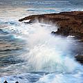 Kauai Sea Explosion by Mike  Dawson