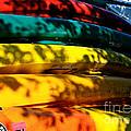 Kayak Colors by Susan Herber