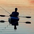 Kayak Fisherman by Tam Ryan