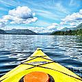 Kayaking In Bc by Traci Cottingham