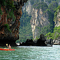 Kayaking In Thailand by Bob Christopher