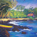 Kealakekua Bay by Karin  Leonard