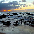 Keaweakapu Beach Sunset by Karon Melillo DeVega