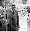 Keldysh (right) With Soviet Scientists by Ria Novosti