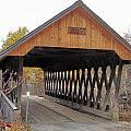 Keniston Covered Bridge by Wayne Toutaint