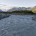 Kennicott River And The Wrangell by Rich Reid