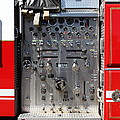 Kensington Fire District Fire Engine Control Panel . 7d15856 by Wingsdomain Art and Photography
