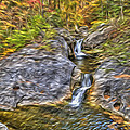 Kent Falls by Paul Wear