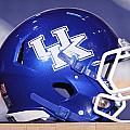 Kentucky Wildcats Football Helmet by Icon Sports Media