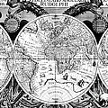 Keplers World Map, Tabulae by Science Source