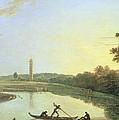 Kew Gardens - The Pagoda And Bridge by Richard Wilson