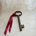 Key On Windowsill by Jill Battaglia