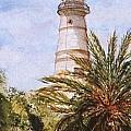 Key West Lighthouse by Evelyn Froisland