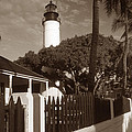 Key West Lighthouse by Skip Willits