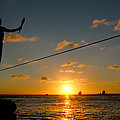 Key West Sunset Performance by John Banegas