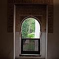 Keyhole Window by Lorraine Devon Wilke