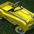 Kid's Pedal Car Taxi by Samuel Sheats