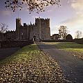 Kilkea Castle, Co Kildare, Ireland Road by The Irish Image Collection