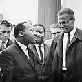 King And Malcolm X, 1964 by Granger