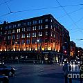 King And Spadina by Gary Chapple