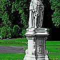 King Edward Vii Statue - Lichfield by Rod Johnson