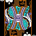 King Of Spades by Wingsdomain Art and Photography