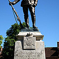 Kings Royal Rifle Corps Memorial In Winchester by Chris Day