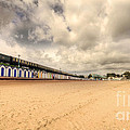 Kinlet Hall At Goodrington Sands by Rob Hawkins