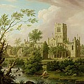 Kirkstall Abbey - Yorkshire by George Lambert