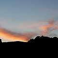 Kissing Camels Sunset by Ernie Echols