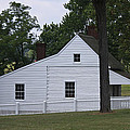 Kitchen And Slave Quarters Appomattox Virginia by Teresa Mucha