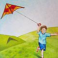 Kite Flying Fun by Nicole McKeever