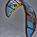 Kite Surfing by Douglas Barnard
