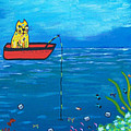 Kittyboy Goes Deep Sea Fishing by Marilyn Ferguson